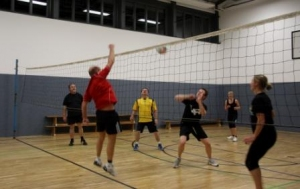 Volleyball am Donnerstag